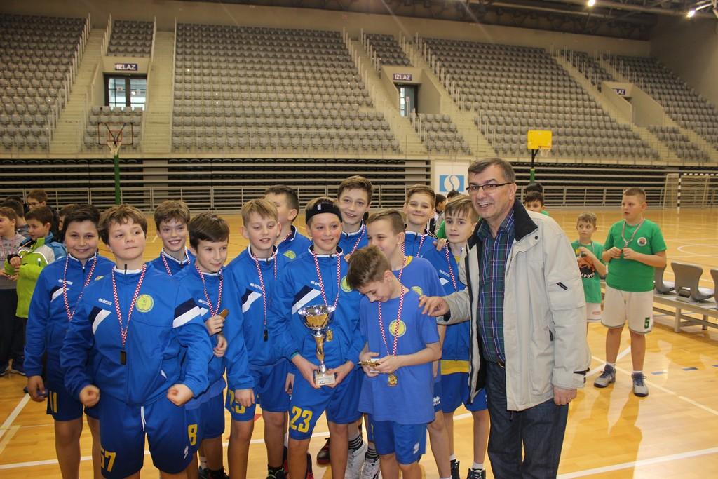 KK VROS dječaci 2006 prvaci regije