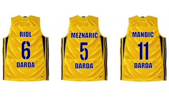 Poredak najboljih igrača Darde u izboru darđanskih navijača je 1) Z.Ridl 2) D.Meznarić 3) M.Mandić