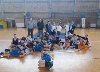Prijateljska utakmica VROS-ovih škola košarke