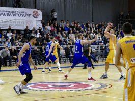 KK Vrijednosnice Osijek - KK Cibona